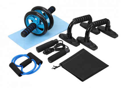 hey4beauty - Five in One home gym fitness kit - Save 57%