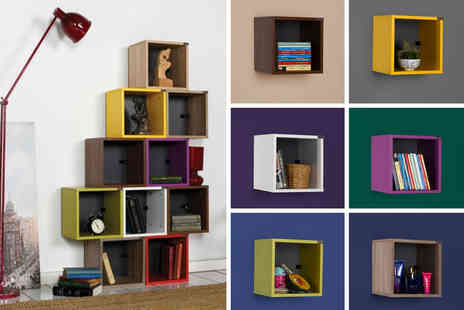 IQGB - Decorative cube wall shelving unit - Save 0%