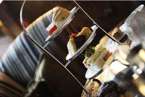 Peckforton Castle - Alfresco classic afternoon tea for two - Save 26%