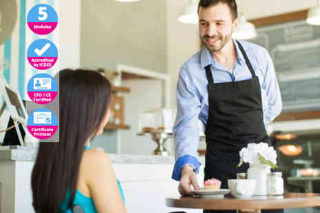 International Open Academy - Professional waiter diploma online course - Save 91%