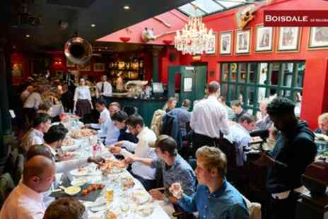 Boisdale of Belgravia - Chateaubriand, Side, Sauces and Bottomless Chips - Save 54%