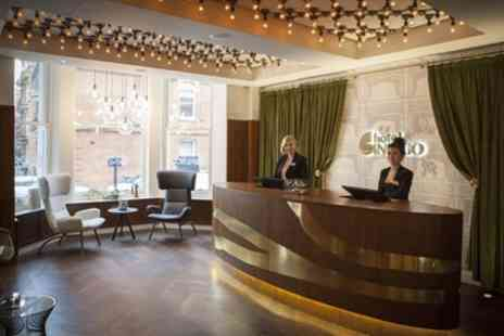 Hotel Indigo London - One Night Stay for Two with Breakfast, Bubbly, Chocolates - Save 0%