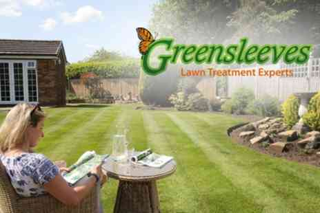 Greensleeves Lawn Care - Up to 400 Square Meters of Lawn Treatment, Weed Control - Save 60%