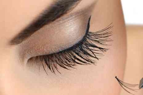 Lashes4you - Half or Full Set of Classic, Hybrid or Russian Volume Eyelash Extensions - Save 62%