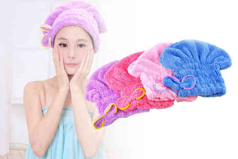 My Blu Fish - Quick dry no damage hair towel - Save 70%