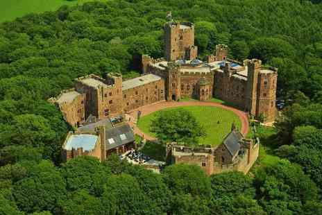 Peckforton Castle - Four Star Overnight Cheshire stay for two people with breakfast and two - Save 51%