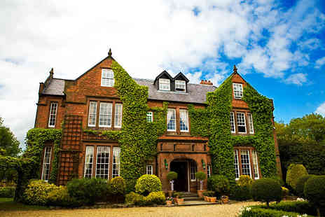 Nunsmere Hall Hotel - Four Star Overnight Cheshire stay with a cream tea and glass of Prosecco each - Save 48%