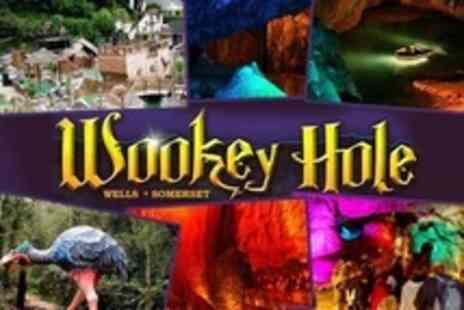 Wookey Hole Caves - Family Pass to Wookey Hole Caves - Save 50%