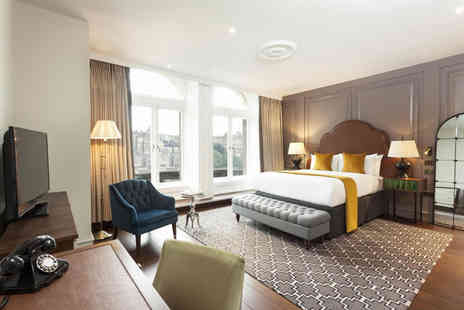 Hotel Indigo Edinburgh - Overnight central Edinburgh stay for two people with a grab and go breakfast - Save 0%