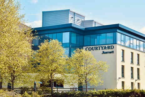 Courtyard Marriott Glasgow Airport - Overnight break for two people with picnic - Save 34%