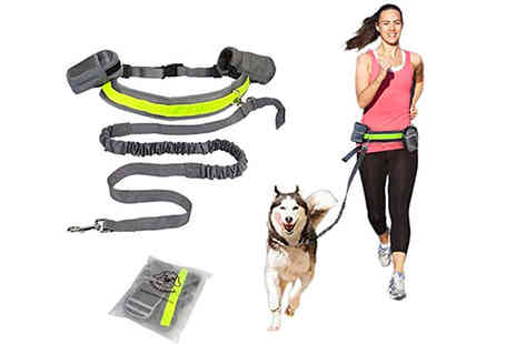 hey4beauty - Hands free dog running lead - Save 75%