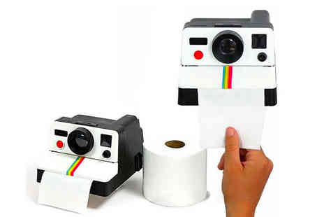 Magic Trend - Polaroid shaped toilet roll holder - Save 61%