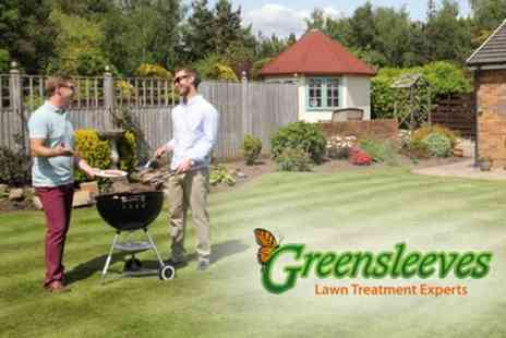 Greensleeves Lawn Care - 400 Square Metres of Lawn Treatment with Weed Controlv- Save 60%