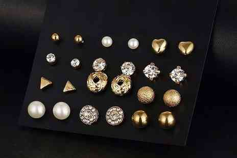 Your Ideal Gift - 12 pairs of mini stud earrings - Save 0%