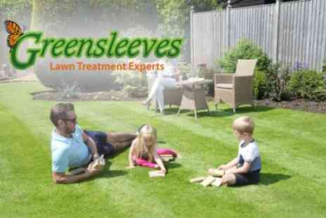 Greensleeves Lawn Care - 400 Square Meters of Lawn Treatment, Weed Control - Save 60%