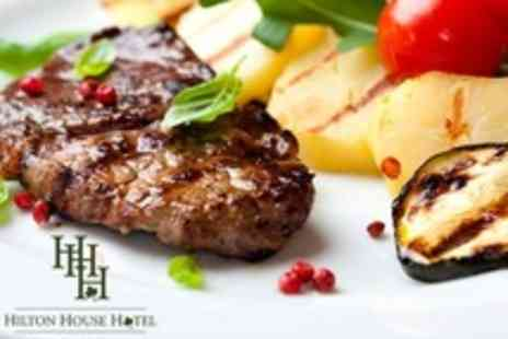 Hilton House Hotel - Steak Dinner For Two - Save 61%