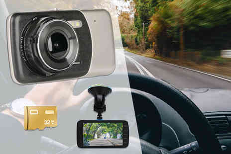 Direct Sourcing - HD front and rear dashcam - Save 80%