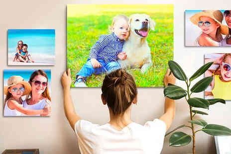 Printerpix - Personalised photo canvas - Save 0%