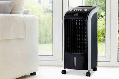 Groupon Goods Global GmbH - Neo 80W Oscillating Air Cooler With Free Delivery - Save 0%