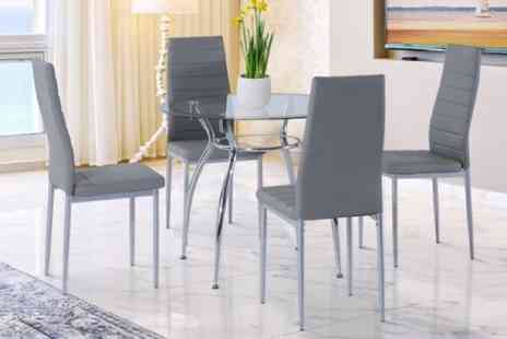 Mhstar - 5pc dining set - Save 38%