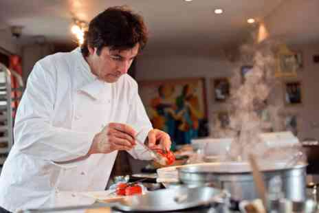 Jean Christophe Novellis Home - Private Hands On Cookery and Tasting Masterclass for Two - Save 0%