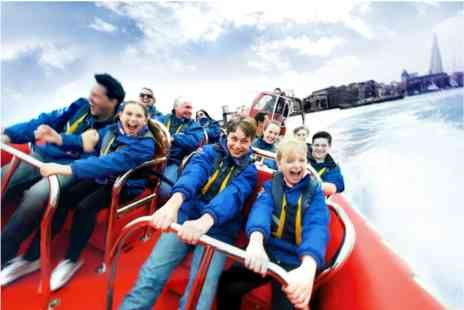 Virgin Experience Days - Thames Rockets Family Speedboat Ride - Save 0%