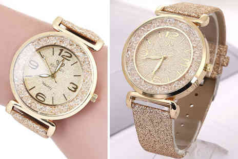 Taylors - Ladies sparkle crystal watch - Save 84%