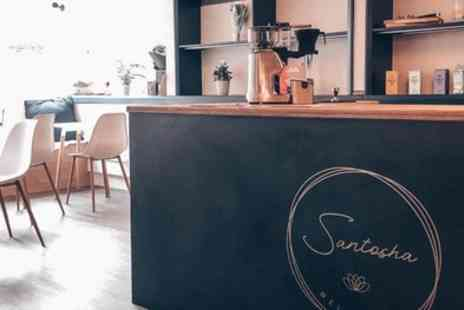 Santosha Wellbeing - £15 or £25 toward Food and Drink - Save 33%