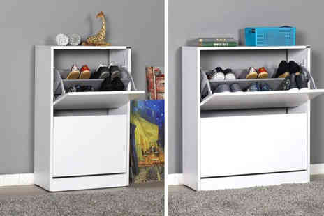 IQGB - Standard width two tier shoe cabinet - Save 0%