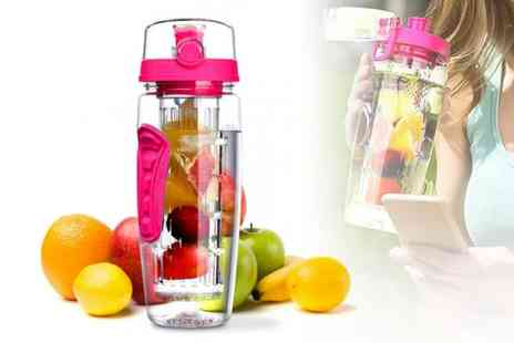 My Blu Fish - One 1L fruit infuser bottle - Save 52%