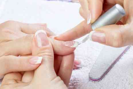 Inspire Hair & Beauty - Gel Overlay on Fingernails, Toenails or Both - Save 35%