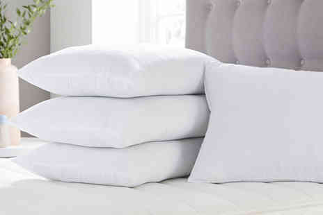 Direct Warehouse - Two Cool Touch Air Flow 100% cotton pillows - Save 70%