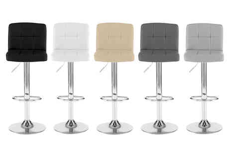 Neo Deals - Pair of Cuban bar stools - Save 72%