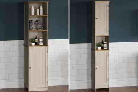 Home Discount - Bathroom tall cabinet - Save 61%