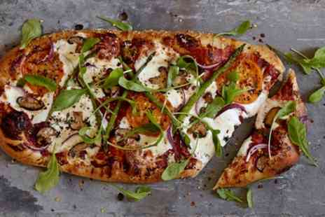 The Barrell Boulangerie - Choice of Pizza and Soft Drink - Save 48%