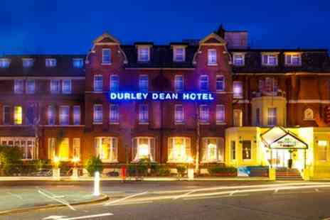 Durley Dean Hotel - 1 or 2 Nights for Two with Breakfast, Leisure Access - Save 0%