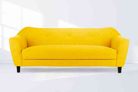 Furniture Instore - Contemporary fabric sofa - Save 43%