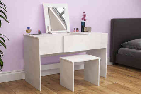 Home Discount - Vida Designs Ava dressing table - Save 0%