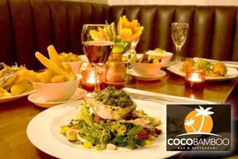 CocoBamboo - Large Sharing Platter For Two Including Dessert and Cocktail - Save 66%