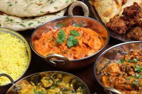 Sanjha Chulla - Two Course Indian Meal with Rice or Naan and Soft Drink - Save 48%