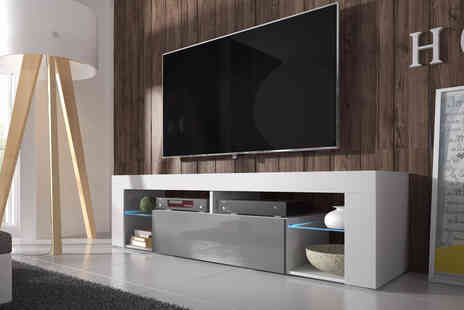 Selsey - 140cm Bianko TV stand - Save 0%