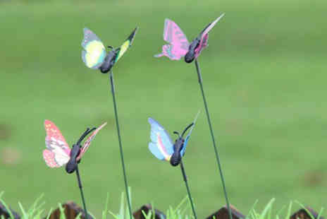 YelloGoods - Set of butterfly garden decorations - Save 50%