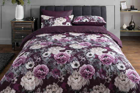 Five Minutes More - Single Sleepdown floral bedding set - Save 0%