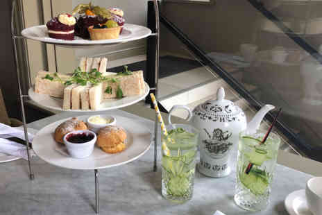 Townhouse Hotel - Afternoon tea for two people with a gin and tonic each - Save 45%