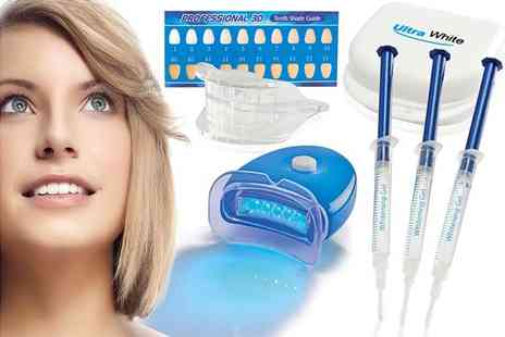 CJ Offers - Home teeth whitening kit - Save 80%