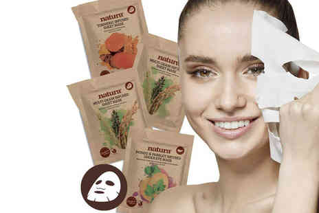 BeautyPro - Brightening and rejuvenating face and under eye mask bundle - Save 62%