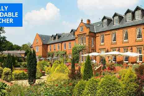 Nunsmere Hall Hotel - Cheshire country house stay including bubbly - Save 60%