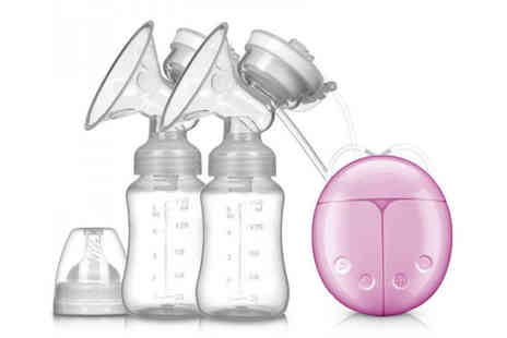 hey4beauty - Electric double breast pump - Save 71%