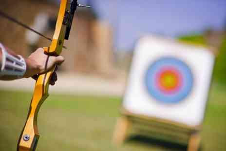 Moving Mountains Outdoor Skills Education - One hour archery experience for two - Save 50%