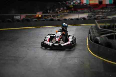 Cannon Raceway - 50 laps of go karting and one year karting centre membership - Save 50%